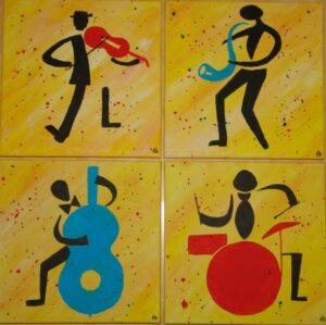 Happy Jazz I t/m IV